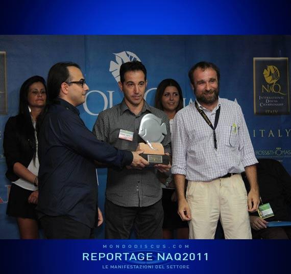 Carmelo premia Antonello Greco e Andrea Sassi SG discuscoltura