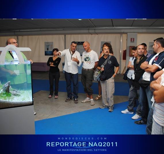 Vincenzo Maisto.conferenza sull'aquario Naturale