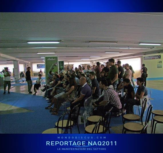 Il pubblico che segue l'Ada layout