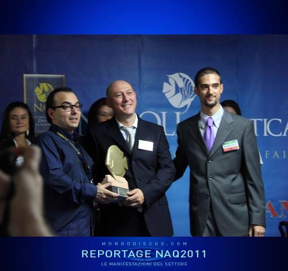 Carmelo A. premia Lorenzo Vecchio