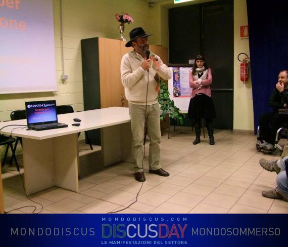 Heiko bleher durante la presentazione