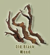 ada old black wood